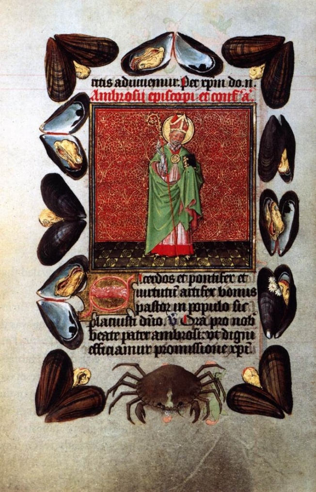 St Ambrose, Book of Hours