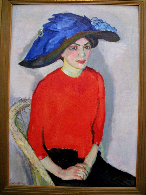 Portrait of a Lady in Red, 1912, Jan Sluyters