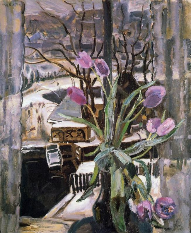 Still life with flowers Jan Sluyter