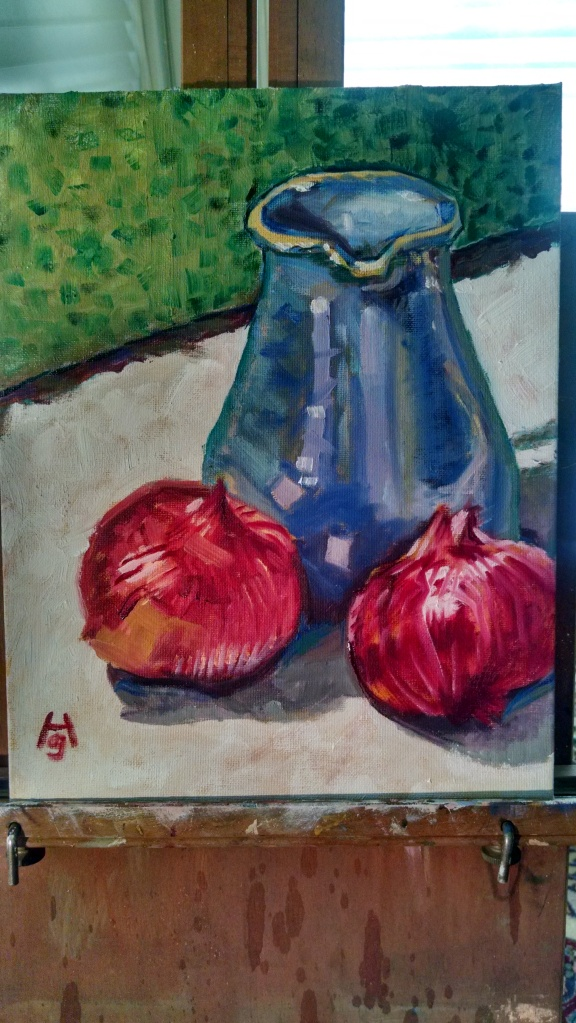 Painting pitcher 1